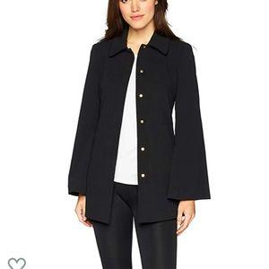 Calvin Klein Scuba Crepe Jacket With Collar